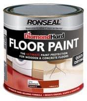Ronseal Diamond Hard Floor Paint 750ml - Terracotta